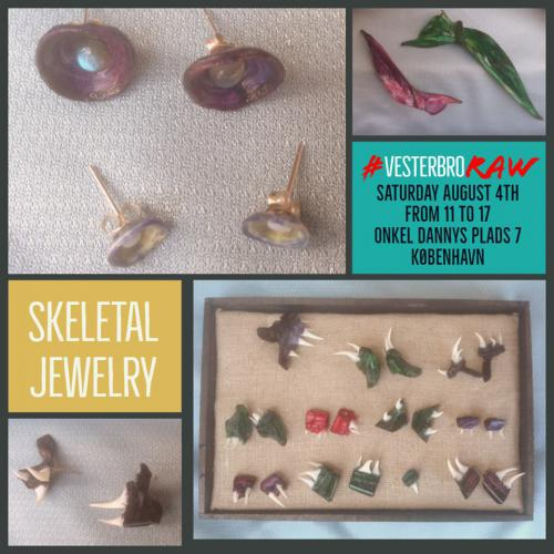 skeletal jewelry